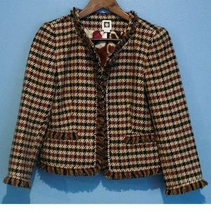 Anne Klein Tweed Jacket